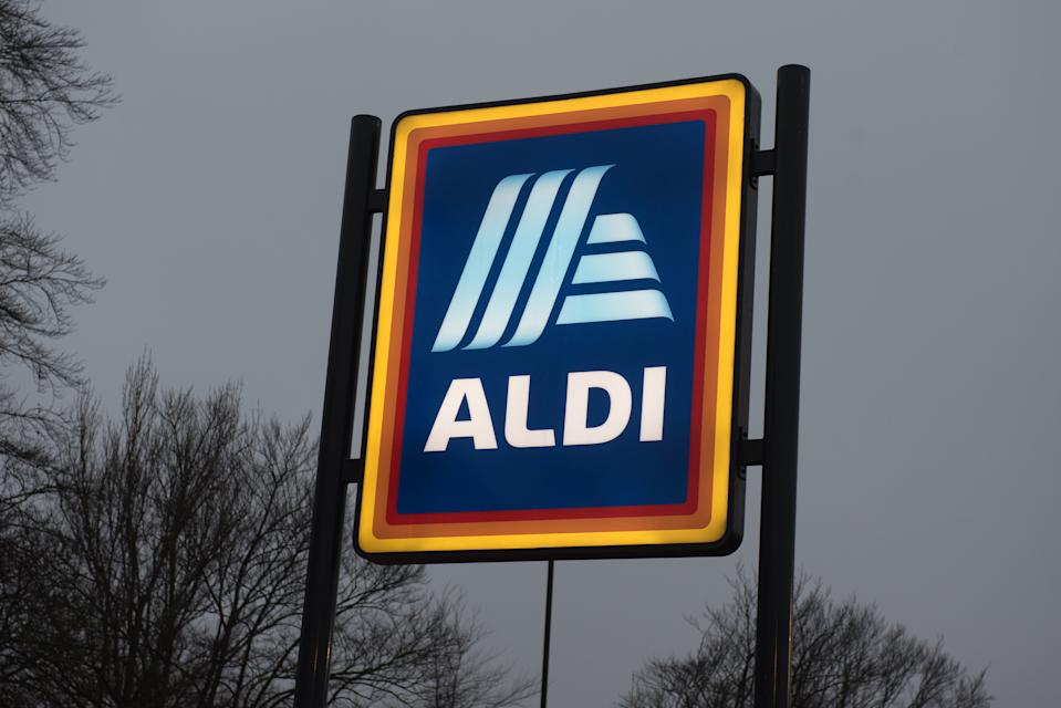 A general view of ALDI supermarket