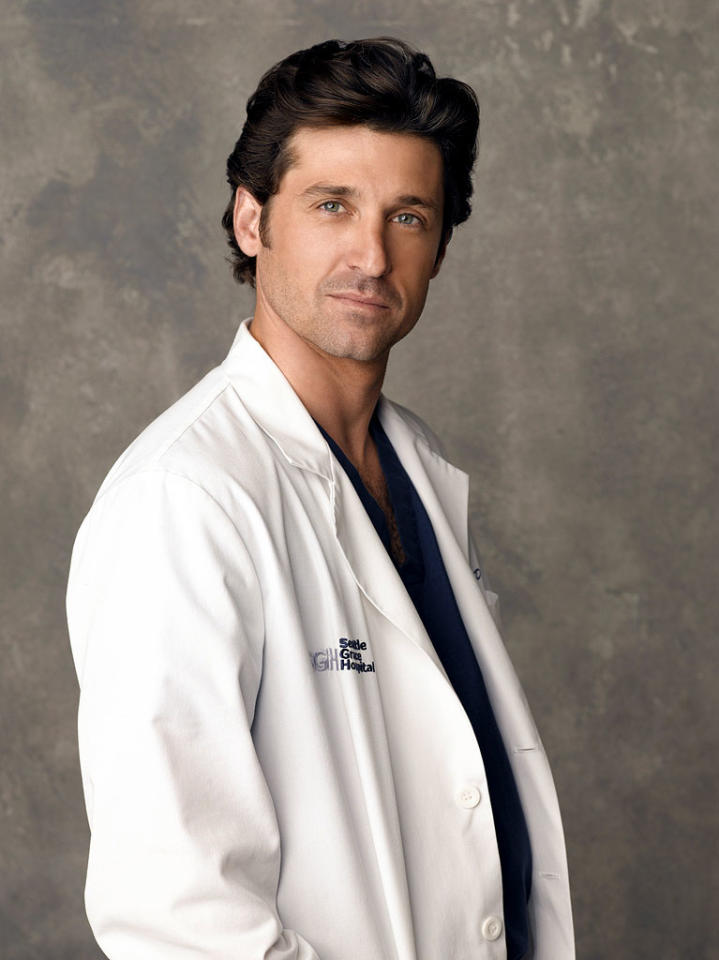 "<a href=""/patrick-dempsey/contributor/31744"">Patrick Dempsey</a> receives a Best Actor (Drama) Golden Globe nomination for his role as Dr. Derek Shepherd on  <a href=""/grey-39-s-anatomy/show/36657"">Grey's Anatomy</a>."