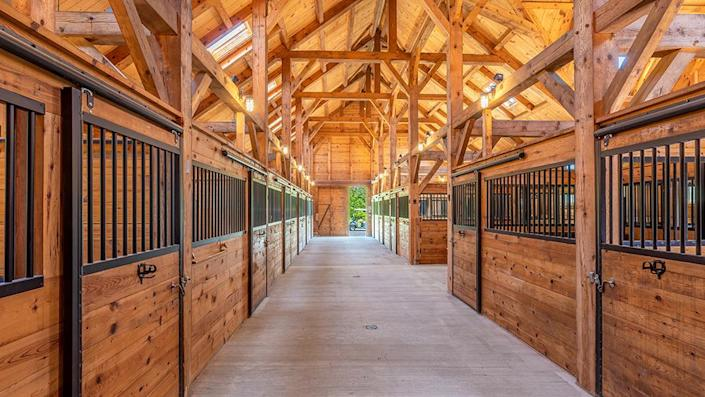 The stables. - Credit: Photo: Courtesy of Francois Gagne