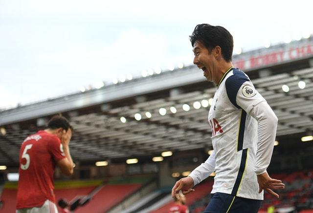 Tottenham ran amok at Old Trafford at the start of October