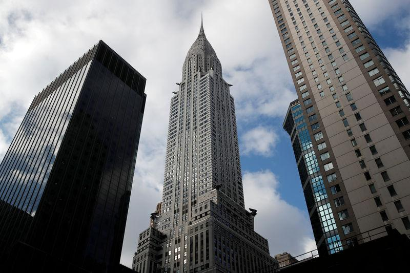 FILE PHOTO: New York City's iconic Chrysler Building is seen in Manhattan