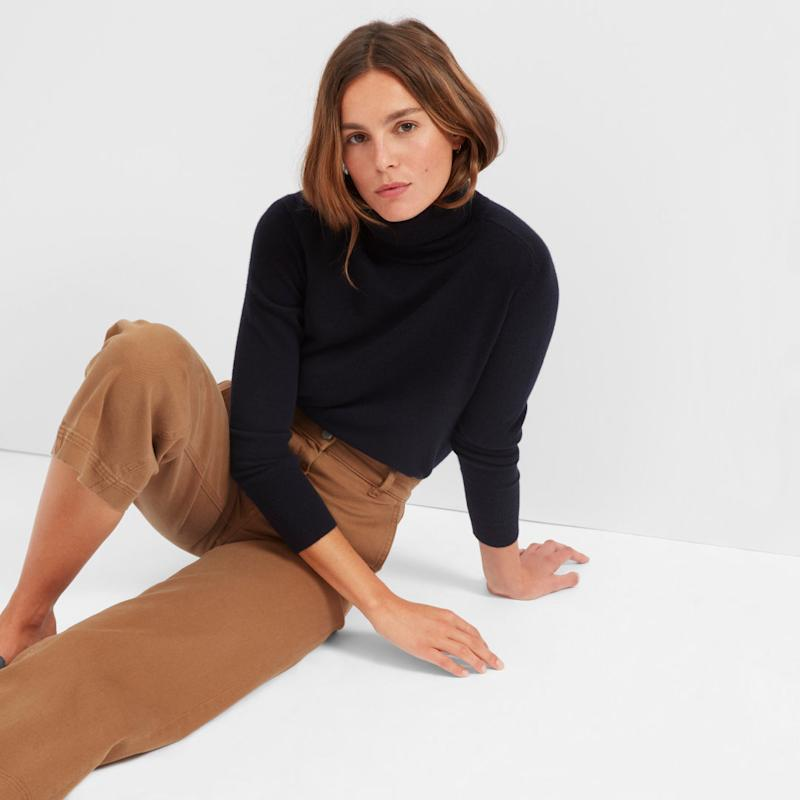 The Cashmere Turtleneck
