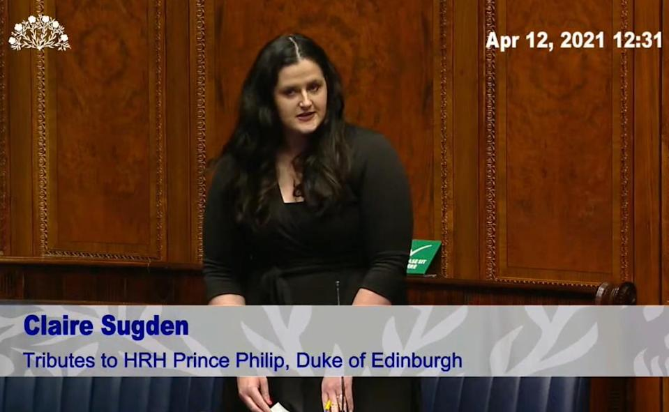 Independent MLA Claire Sugden (NI Assembly/PA)