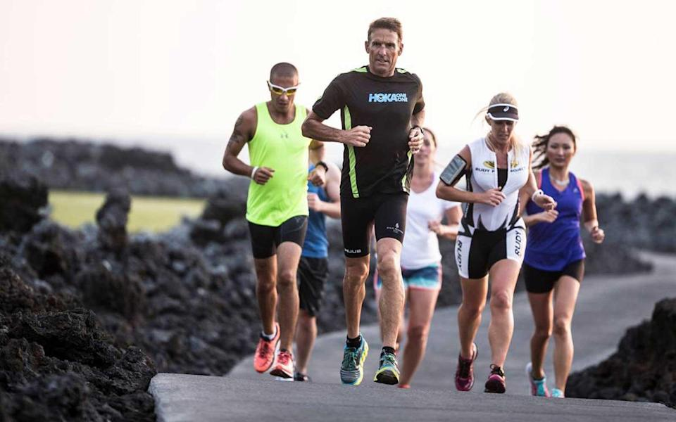 """<p>The Four Seasons Resort Hualalai runs an annual """"Triathlon Camp."""" Six-time Hawaii Ironman winner and coach Dave Scott runs <a rel=""""nofollow noopener"""" href=""""https://www.fourseasons.com/hualalai/services_and_amenities/sports/triathlon/"""" target=""""_blank"""" data-ylk=""""slk:clinics for triathletes of all abilities and fitness levels"""" class=""""link rapid-noclick-resp"""">clinics for triathletes of all abilities and fitness levels</a>. The five-day programs include personalized coaching on every part of a triathlon, including swim, bike, run, nutrition, strength and flexibility. Rates <a rel=""""nofollow noopener"""" href=""""https://www.fourseasons.com/hualalai/services_and_amenities/sports/triathlon/"""" target=""""_blank"""" data-ylk=""""slk:start at $2,000"""" class=""""link rapid-noclick-resp"""">start at $2,000</a>, in addition to the room rate.</p> <p>The coaching is personalized with video analysis, phone consultations before camp starts and a and post-camp personalized training program. The program also includes group meals and a welcome gift of triathlon apparel, shoes and gear.</p>"""
