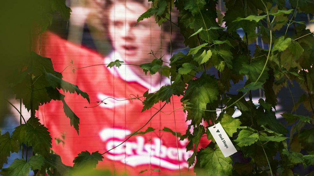 Carlsberg Liverpool 25 years