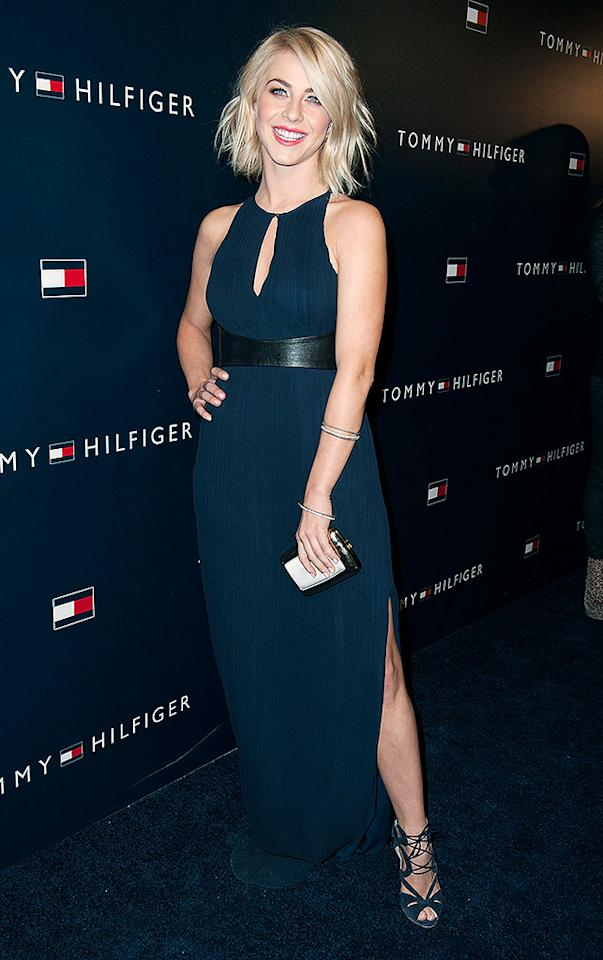 LOS ANGELES, CA - FEBRUARY 13: Julianne Hough arrives at the  Tommy Hilfiger LA Flagship Opening on February 13, 2013 in Los Angeles, California. (Photo by Valerie Macon/Getty Images)