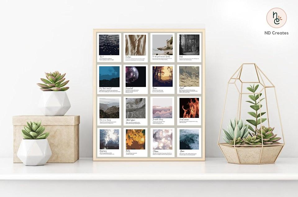 <p>The <span><b>Folklore</b> Album Polaroids</span> ($15) will look great hung in their bedroom. </p>