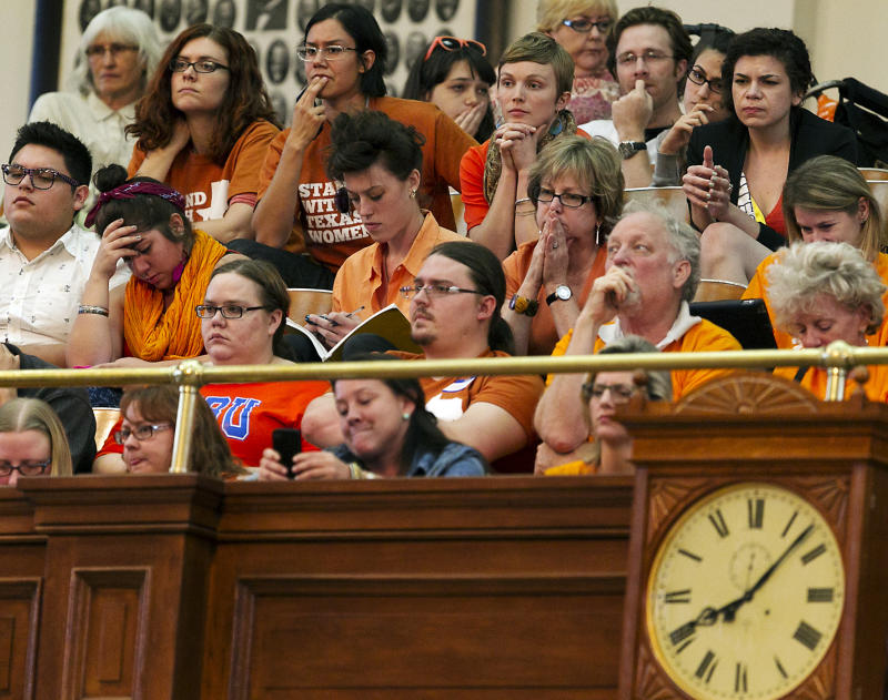 Texas Republicans on verge of passing abortion law