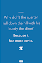 <p>Because it had more cents.</p>