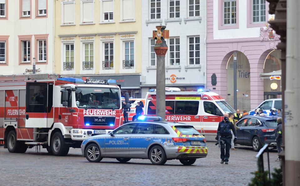 <p>Police have arrested the driver in Trier</p> (AP)