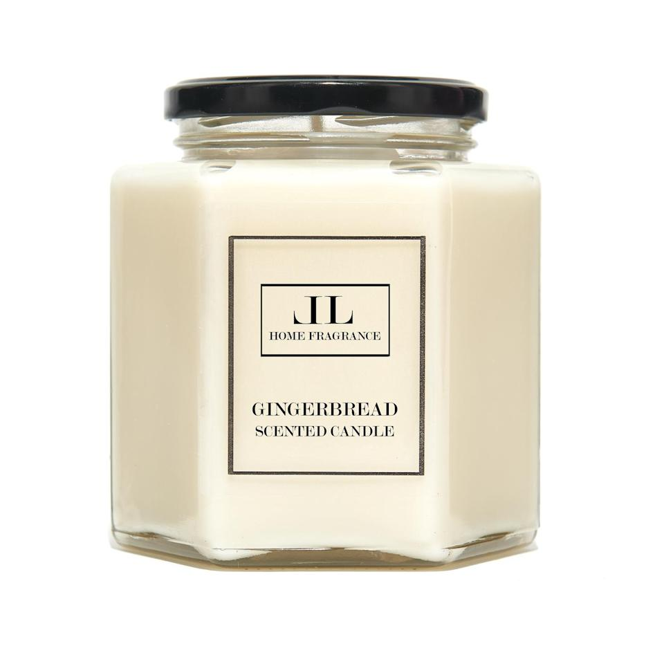 Lindsay Lucas soy wax candles are available on Etsy.
