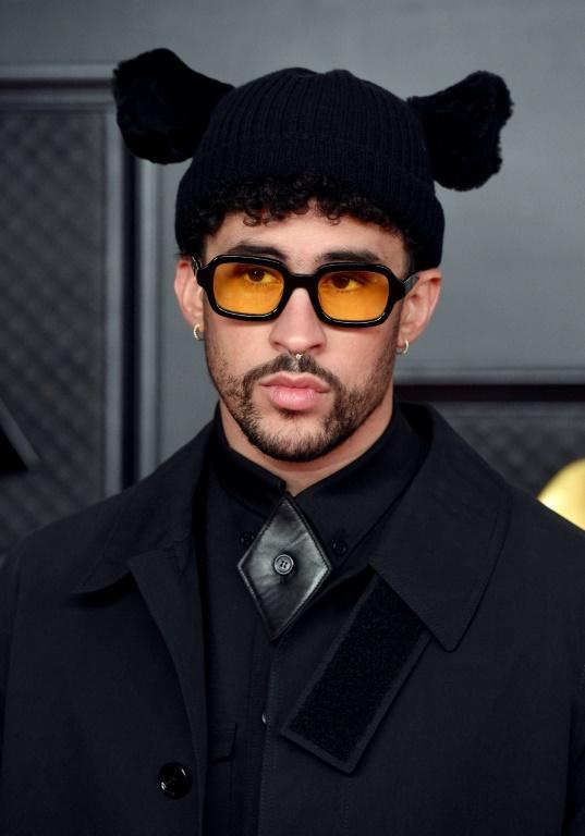 Bad Bunny's hat was perhaps the best accessory spotted on the Grammys red carpet