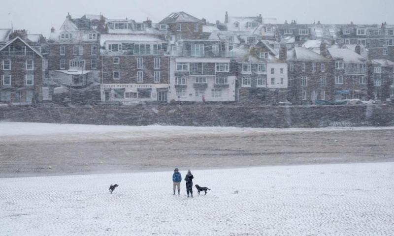 Freezing weather conditions dubbed the 'Beast from the East' brought snow and sub-zero temperatures to the UK.