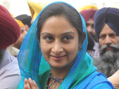 "Harsimrat Kaur Badal calls Navjot Singh Sidhu a ""Pakistani agent"", criticises Congress leader for questioning IAF air strikes"