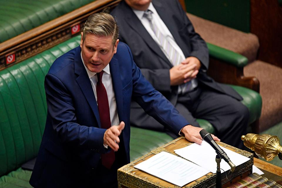 <strong>Labour party leader Keir Starmer in the House of Commons. </strong> (Photo: ASSOCIATED PRESS)