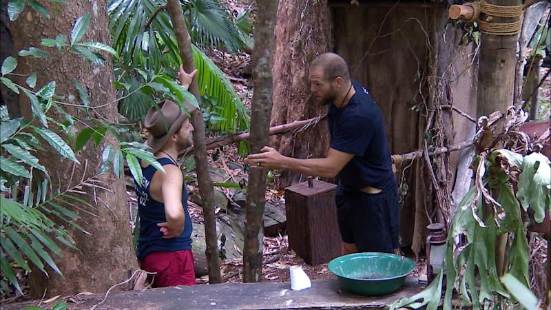 James Haskell was annoyed at his I'm a Celebrity campmates (Photo: ITV/Shutterstock)