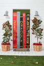 """<p>Welcome your party guests with a chilling entrance inspired by the book covers of Halloween favorites, including <em>Dracula</em> and <em>Frankenstein</em>. You can also go for not-so-scary options like <em>Ghostbusters</em> and <em>Big Pumpkin</em>, if that's more your speed. </p><p><em><a href=""""https://www.countryliving.com/diy-crafts/how-to/g1024/do-it-yourself-halloween-decorations-1010"""" rel=""""nofollow noopener"""" target=""""_blank"""" data-ylk=""""slk:Get the tutorial at Country Living »"""" class=""""link rapid-noclick-resp"""">Get the tutorial at Country Living »</a></em></p><p><strong>RELATED</strong>: <a href=""""https://www.goodhousekeeping.com/holidays/halloween-ideas/g32948621/halloween-door-decorations/"""" rel=""""nofollow noopener"""" target=""""_blank"""" data-ylk=""""slk:25 Stylish and Scary Halloween Door Decorations"""" class=""""link rapid-noclick-resp"""">25 Stylish and Scary Halloween Door Decorations</a></p>"""