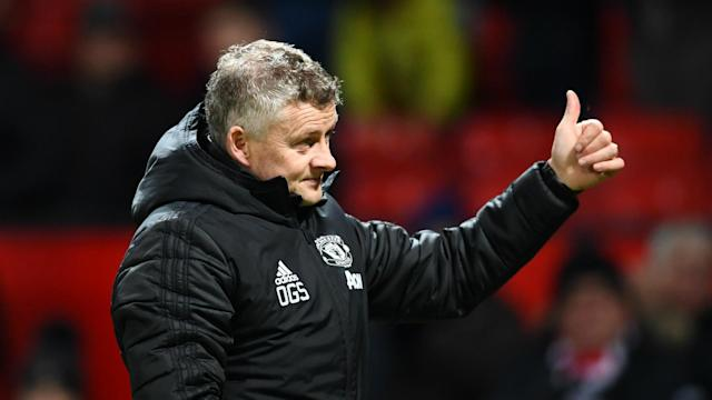 Manchester United's league win in the derby stands them in good stead for a repeat in the EFL Cup semi-finals, says Ole Gunnar Solskjaer.