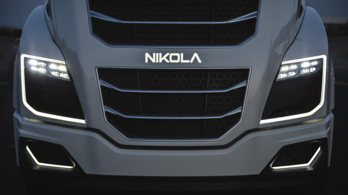Yahoo Finance readers have chosen Nikola as the worst company of the year. (Nikola Motor)