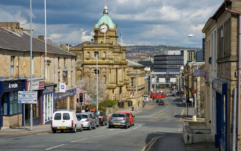 The mostaffordable place for first-time buyers isBurnley inLancashire - www.alamy.com