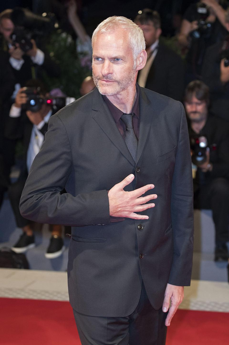 Martin McDonagh attends the premiere of <em>Three Billboards Outside Ebbing, Missouri</em> premiere at the 74th Venice International Film Festival in September. (Photo: DPA/Courtesy Everett Collection)
