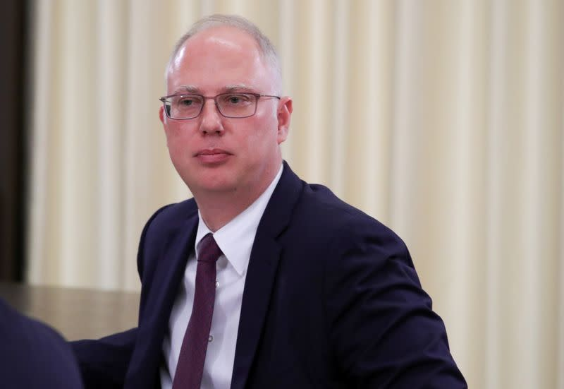 RDIF head Dmitriev attends a meeting outside Moscow