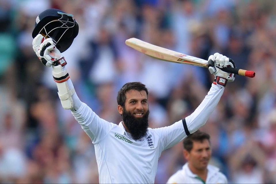 Moeen Ali, seen here celebrating against Pakistan in 2016, made five Test hundreds (AFP via Getty Images)