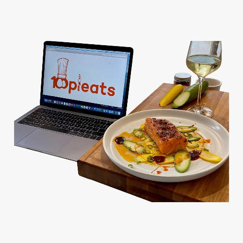 """100 Pleats supports chefs around the world with their virtual one-on-one cooking lessons—the ideal gift for both your friend who doesn't know how to boil water and your at-home pasta-making aunt. $100, 100 Pleats. <a href=""""https://www.100pleats.com/quickfirelessons"""" rel=""""nofollow noopener"""" target=""""_blank"""" data-ylk=""""slk:Get it now!"""" class=""""link rapid-noclick-resp"""">Get it now!</a>"""