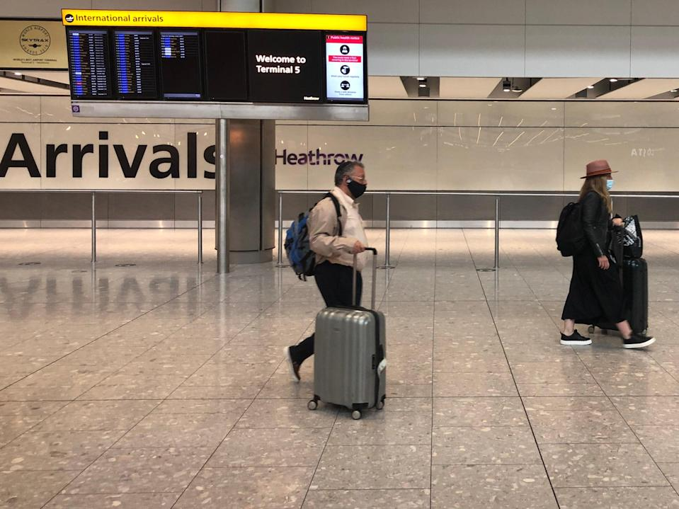 Homeward bound: Arrivals at Heathrow and other airports face a series of tests (Simon Calder)