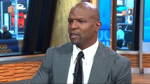 PHOTO: Terry Crews speaks out on 'Good Morning America' about an alleged incident in which he says a 'high-level Hollywood executive' groped him at a party. (ABC)