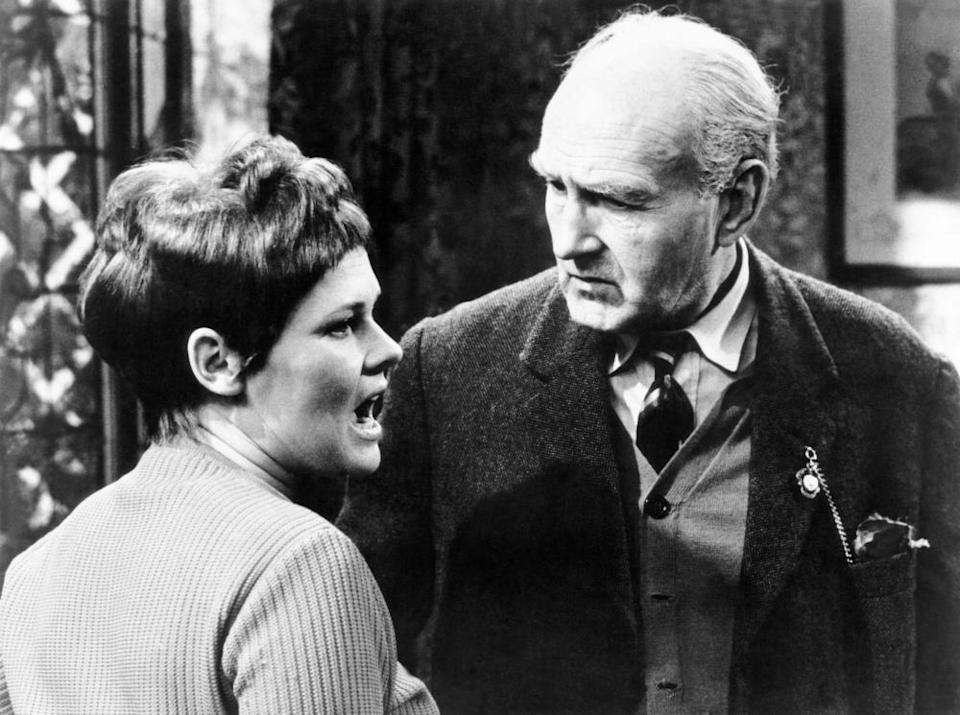 Judi Dench and Maurice Denham in Talking to a Stranger in 1966