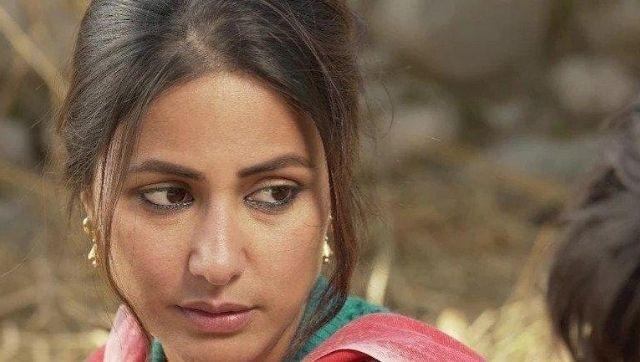 Hina Khan in a still from Lines