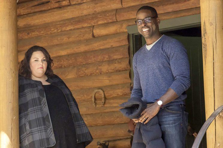 Chrissy Metz as Kate and Sterling K. Brown as Randall (Credit: Ron Batzdorff/NBC)