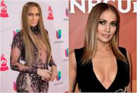 """<p><b>When: March 20, 2017 </b><br>Jennifer Lopez chopped a few inches off her long, flowing locks and still manages to look as effortlessly gorgeous as ever! The 47-year-old debuted this highlighted lob at a press event on Monday, in time to promote her upcoming """"World of Dance"""" competition show. Celeb hairstylist Chris Appleton is responsible for the straight, honey-highlighted tapered cut that lands slightly above chest level. Are you as obsessed with it as we are? <i> (Photos: Getty) </i> </p>"""