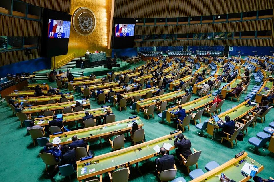 UN General Assembly Philippines (ASSOCIATED PRESS)