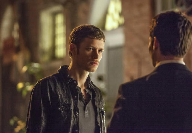 """The Originals"" -- Joseph Morgan as Klaus and Daniel Gillies as Elijah"