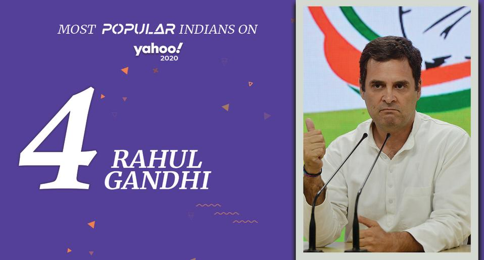 Rahul Gandhi, (born June 19, 1970) <br>Former president of the Indian National Congress