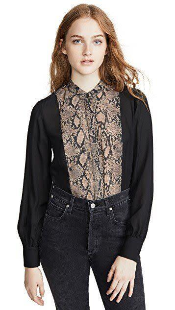 """This top comes in sizes XS to L. <a href=""""https://fave.co/2vn56zS"""" rel=""""nofollow noopener"""" target=""""_blank"""" data-ylk=""""slk:Find it on sale at Shopbop for $89"""" class=""""link rapid-noclick-resp"""">Find it on sale at Shopbop for $89</a>."""