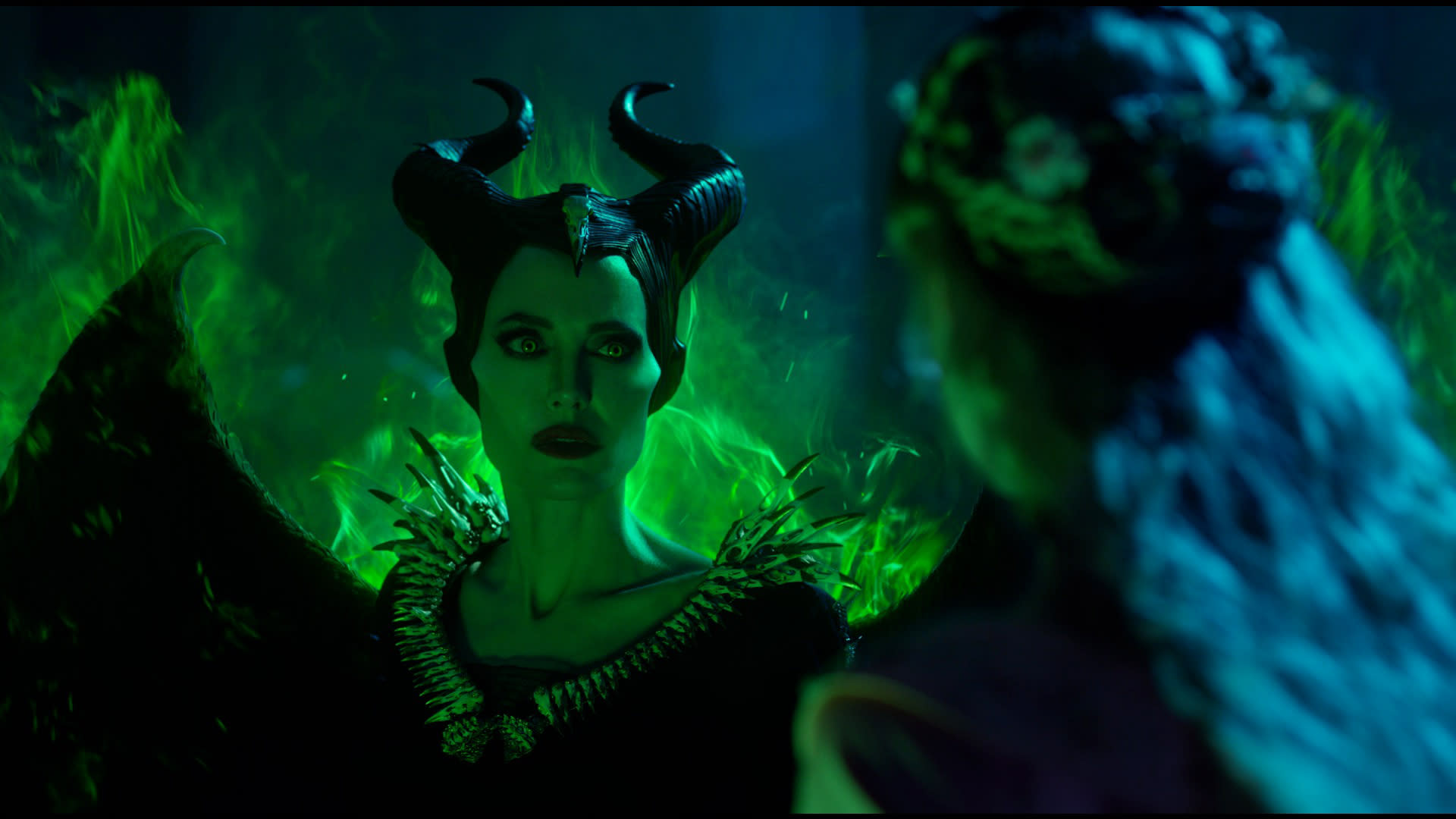 Angelina Jolie is Maleficent. (Disney)
