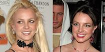 <p>Britney went from beach blonde to brunette after her brutal divorce from Kevin Federline in 2007. Shortly thereafter, the singer endured a mental breakdown during which she infamously shaved her head. Justice for Britney forever. </p>