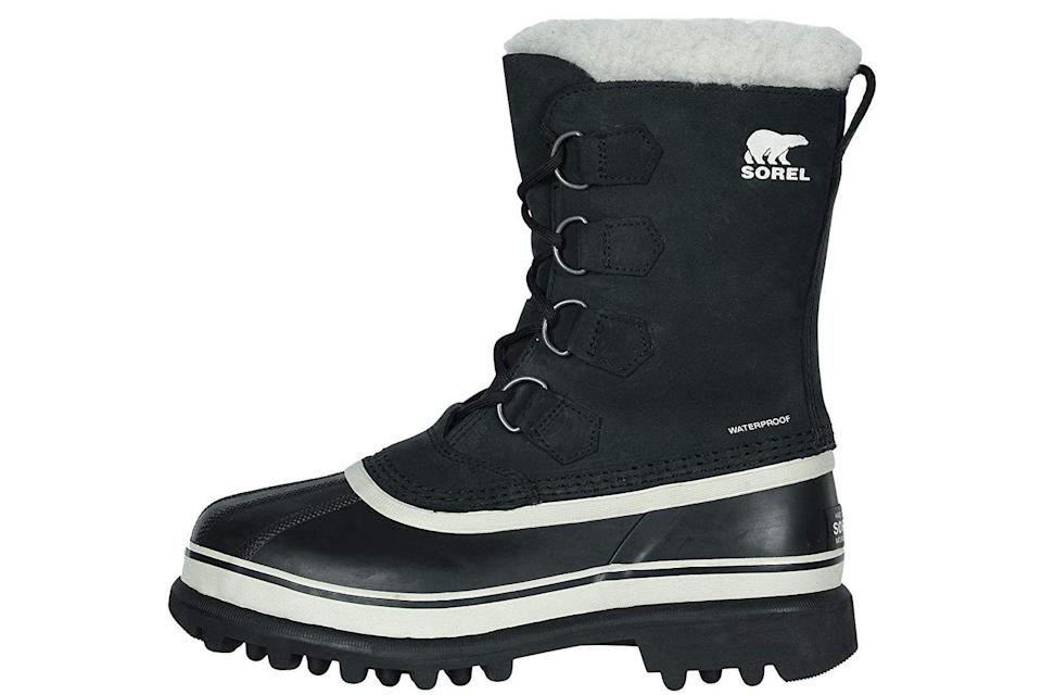 """<p><strong>SOREL</strong></p><p>zappos.com</p><p><strong>$169.95</strong></p><p><a href=""""https://go.redirectingat.com?id=74968X1596630&url=https%3A%2F%2Fwww.zappos.com%2Fp%2Fsorel-caribou%2Fproduct%2F119826&sref=https%3A%2F%2Fwww.prevention.com%2Fbeauty%2Fstyle%2Fg28511743%2Fcomfortable-ankle-boots%2F"""" rel=""""nofollow noopener"""" target=""""_blank"""" data-ylk=""""slk:Shop Now"""" class=""""link rapid-noclick-resp"""">Shop Now</a></p><p>Whether you're trudging through snow or going on a hilly hike, these Sorel <a href=""""https://www.prevention.com/beauty/style/g29102901/most-comfortable-winter-boots/"""" rel=""""nofollow noopener"""" target=""""_blank"""" data-ylk=""""slk:snow boots"""" class=""""link rapid-noclick-resp"""">snow boots</a> will survive all of your winter adventures. The felt inner boot keeps your tootsies feeling toasty, while a vulcanized rubber shell ensures that water and slush stay out. Plus, that treaded, non-slip sole is the real deal, preventing slipping and sliding. <strong>Dr. Bhuta also points out the high laces, which help ward off twisted ankles and falls.</strong></p>"""