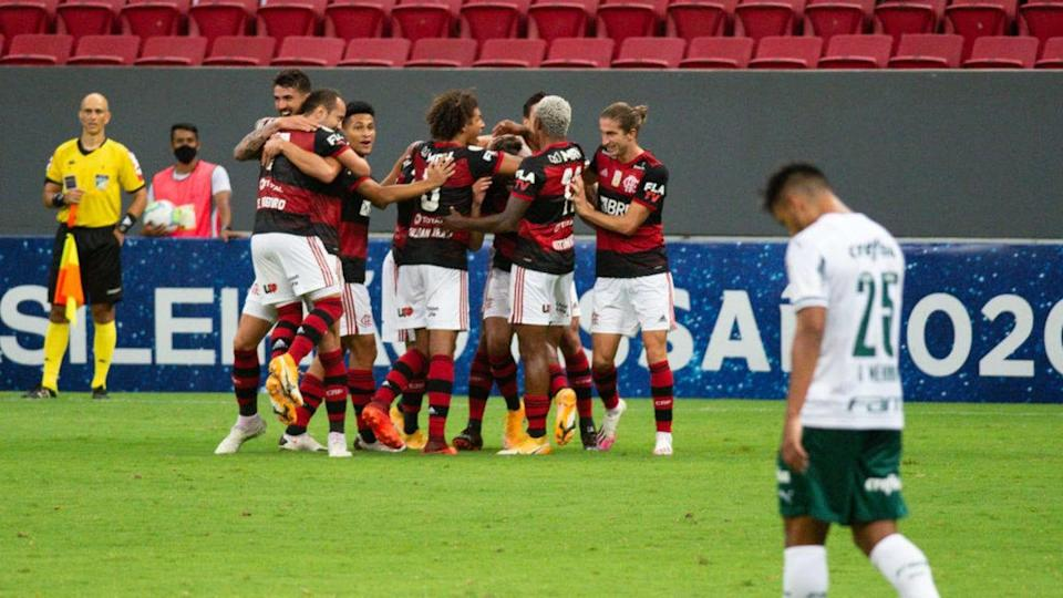 2020 Brasileirao Series A: Flamengo v Palmeiras Play Behind Closed Doors Amidst the Coronavirus | Andressa Anholete/Getty Images