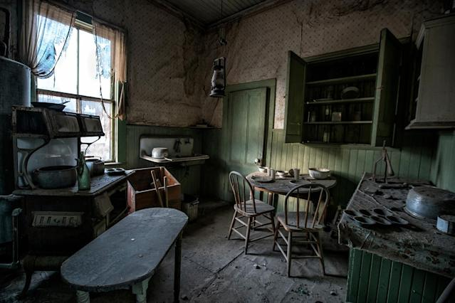 <p>Renowned abandoned location photographer Matthew Christopher, 39, visited the site numerous times over the past 12 months. (Photo: Matthew Christopher — Abandoned America/Caters News) </p>