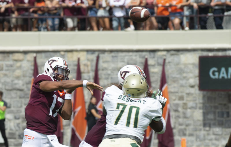 Ex-Virginia Tech starting quarterback Josh Jackson announces transfer to Maryland