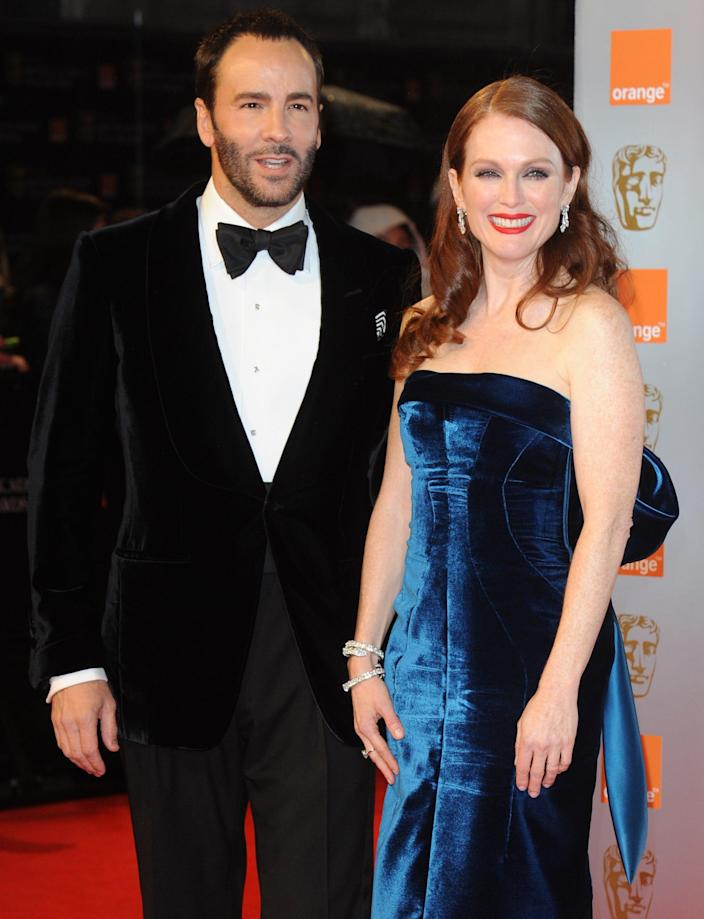 Tom Ford and Julianne Moore 2011