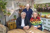 """<p>The cast of <a href=""""https://www.digitalspy.com/great-british-bake-off/"""" rel=""""nofollow noopener"""" target=""""_blank"""" data-ylk=""""slk:The Great Celebrity Bake Off for Stand Up To Cancer 2021"""" class=""""link rapid-noclick-resp"""">The Great Celebrity Bake Off for Stand Up To Cancer 2021</a> has been announced, and we'll be seeing a <a href=""""https://www.digitalspy.com/star-wars/"""" rel=""""nofollow noopener"""" target=""""_blank"""" data-ylk=""""slk:Star Wars"""" class=""""link rapid-noclick-resp"""">Star Wars</a> actor, <a href=""""https://www.digitalspy.com/marvel"""" rel=""""nofollow noopener"""" target=""""_blank"""" data-ylk=""""slk:Marvel"""" class=""""link rapid-noclick-resp"""">Marvel </a>star, Little Mix singer and former <a href=""""https://www.digitalspy.com/strictly-come-dancing"""" rel=""""nofollow noopener"""" target=""""_blank"""" data-ylk=""""slk:Strictly Come Dancing"""" class=""""link rapid-noclick-resp"""">Strictly Come Dancing</a> contestant going head to head when the show returns to Channel 4 this spring for five episodes.</p><p>This year's set of famous bakers hoping to prove their skills in the tent include X-Men: Apocalypse and Deadpool 2 star<br><strong>James McAvoy</strong>, Star Wars: The Rise of Skywalker actress <strong>Dai</strong><strong>sy Ridley</strong>, Strictly champ and documentary filmmaker <strong>Stacey Dooley </strong>and Little Mix's own<strong> Jade Thirlwall</strong>.</p><p>Also treating us to some tasty bakes are The X Factor winner <strong>Alexandra Burke</strong>, double Olympic Champion <strong>Dame Kelly Holmes</strong>, comedian <strong>John Bishop</strong>, internet celebrity <strong>KSI</strong> and presenter and comedian <strong><strong>Katherine Ryan.</strong></strong><br></p><p><strong>Tom Allen</strong>, who has a little experience in the Bake Off world after hosting Bake Off: The Professionals and competing on <br>The Great Christmas Bake Off, will also take part, as will comedian and actor <strong>David Baddiel</strong>, TV presenter and Paralympian <strong>Ade Adepitan MBE</strong>, author and broadcast"""