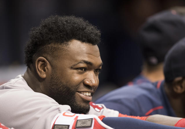 A spokesman said that David Ortiz has taken his first steps since being shot in the back Sunday in the Dominican Republic. (Getty)