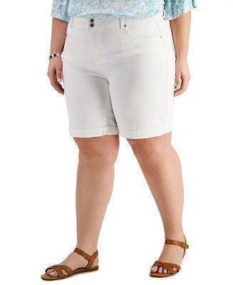 """<h2>Style & Co Plus Size Bermuda Shorts</h2><br><strong> Size Range: 14W-24W</strong><br><br><em> Shop <strong><a href=""""https://www.macys.com/shop/product/style-co-plus-size-bermuda-shorts-created-for-macys?ID=10634943"""" rel=""""nofollow noopener"""" target=""""_blank"""" data-ylk=""""slk:Macy's"""" class=""""link rapid-noclick-resp"""">Macy's </a></strong></em><br><br><strong>Macy's</strong> Plus Size Bermuda Shorts, Created for Macy's, $, available at <a href=""""https://go.skimresources.com/?id=30283X879131&url=https%3A%2F%2Fwww.macys.com%2Fshop%2Fproduct%2Fstyle-co-plus-size-bermuda-shorts-created-for-macys%3FID%3D10634943"""" rel=""""nofollow noopener"""" target=""""_blank"""" data-ylk=""""slk:Macy's"""" class=""""link rapid-noclick-resp"""">Macy's</a>"""