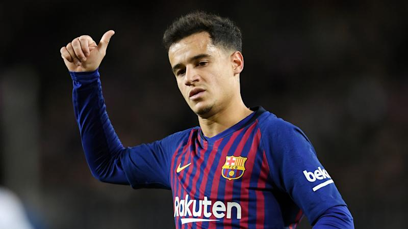 Coutinho joins Barcelona's pre-season training after return from Bayern