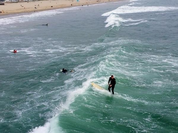 The National Weather Service issued a warning about rip currents and elevated surf for this week in Orange County.